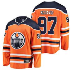 Edmonton Oilers #97 Orange Breakaway Connor McDavid Jersey