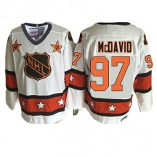 Edmonton Oilers #97 Connor McDavid White 1981 ALL Star Throwback Jersey