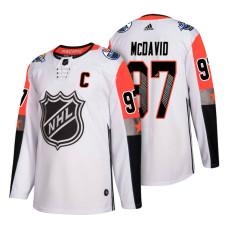 Edmonton Oilers #97 Connor McDavid 2018 All Star Captain Jersey