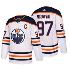 Edmonton Oilers #97 Connor McDavid White 2018 New Season Team Road Jersey