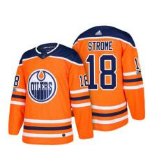Edmonton Oilers #18 Ryan Strome Orange 2018 New Season Player Home Jersey