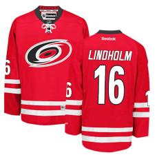 Carolina Hurricanes Elias Lindholm #16 Red Home Jersey