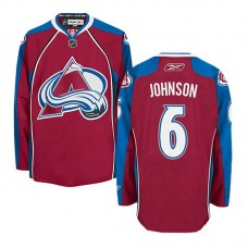 Colorado Avalanche Erik Johnson #6 Burgundy Red Home Jersey