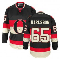Ottawa Senators Erik Karlsson #65 Black Alternate Jersey