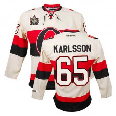 Ottawa Senators Erik Karlsson #65 Cream Jersey