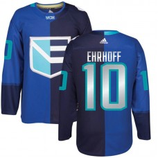 Europe Team 2016 World Cup of Hockey #10 Christian Ehrhoff Blue Premier Jersey