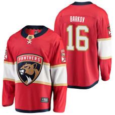 Florida Panthers #16 Breakaway Player Aleksander Barkov Jersey Red