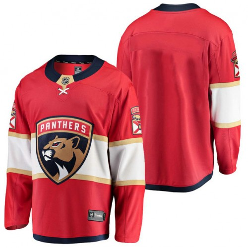 meet dcb37 8819d Florida Panthers Red 2018 Fanatics Branded Blank Jersey