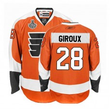 Philadelphia Flyers Claude Giroux #28 Orange Stanley Cup Home Finals Jersey