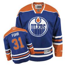 Edmonton Oilers Grant Fuhr #31 Royal Blue Home Jersey