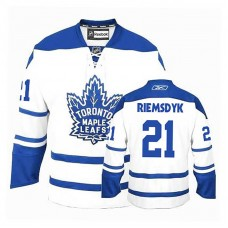Youth Toronto Maple Leafs James Van Riemsdyk #21 White Alternate Jersey