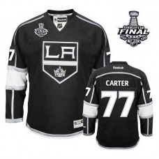 Youth Los Angeles Kings Jeff Carter #77 Black 2014 Stanley Cup Home Jersey