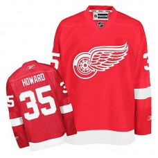 Detroit Red Wings Jimmy Howard #35 Red Home Jersey