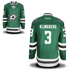 Dallas Stars John Klingberg  3 Green Home Premier Jersey 497fcdd83