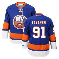 Youth New York Islanders John Tavares #91 Royal Blue Home Jersey