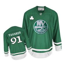 Youth New York Islanders John Tavares #91 Green St. Patrick's Day Jersey