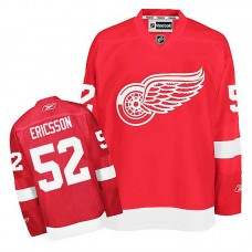 Detroit Red Wings Jonathan Ericsson #52 Red Home Jersey