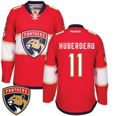Jonathan Huberdeau #11 Florida Panthers Red Home Premier Jersey