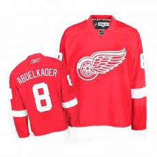 Detroit Red Wings Justin Abdelkader #8 Red Home Jersey