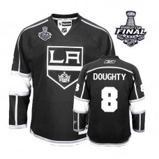 Los Angeles Kings Drew Doughty #8 Black 2014 Stanley Cup Home Jersey