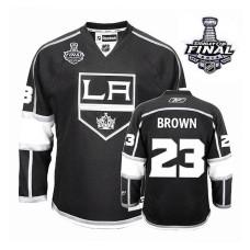 Los Angeles Kings Dustin Brown #23 Black 2014 Stanley Cup Home Jersey