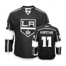 Los Angeles Kings Anze Kopitar #11 Black Home Jersey