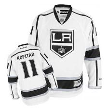 Los Angeles Kings Anze Kopitar #11 White Away Jersey