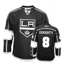 Los Angeles Kings Drew Doughty #8 Black Home Authentic Jersey