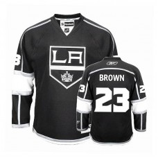 Youth Los Angeles Kings Dustin Brown #23 Black Home Jersey