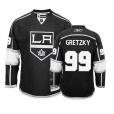 Women's Los Angeles Kings Wayne Gretzky #99 Black Home Jersey
