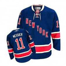Women's New York Rangers Mark Messier #11 Navy Blue Alternate Jersey