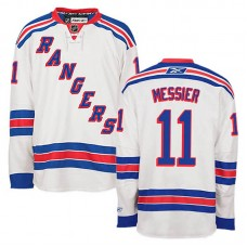 Women's New York Rangers Mark Messier #11 White Away Jersey