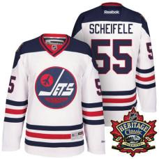 reputable site 0103b 19a4c Mark Scheifele #55 Winnipeg Jets White 2016 Heritage Classic ...