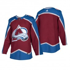 Colorado Avalanche Authentic Blank Home Jersey Burgundy