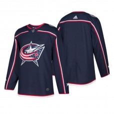 Columbus Blue Jackets Authentic Blank Home Jersey Navy