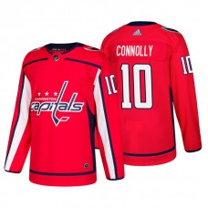 Washington Capitals #10 Brett Connolly Home Adidas Authentic Player Red jersey