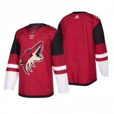Arizona Coyotes Authentic Blank Home Jersey Maroon