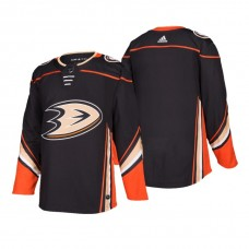Anaheim Ducks Authentic Blank Home Jersey Black