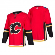 Calgary Flames Authentic Blank Home Jersey Red