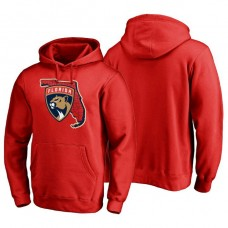 Florida Panthers Hometown Collection Pullover Hoodie Red