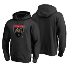 Florida Panthers Midnight Mascot Primary Hoodie Black