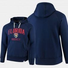 Florida Panthers Indestructible Fanatics Branded Pullover Hoodie Navy
