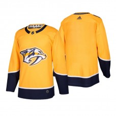 Nashville Predators Authentic Blank Home Jersey Gold