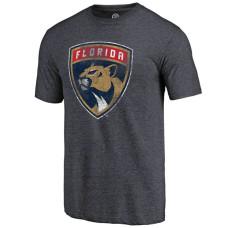Florida Panthers Navy Team Primary Logo Crew Neck T-shirt