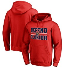 Florida Panthers Red Defend City Hometown Pullover Hoodie