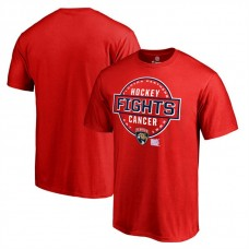 Florida Panthers Red Hockey Fights Cancer T-shirt