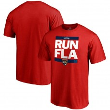 Florida Panthers Red RUN-CTY T-shirt