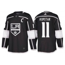 Los Angeles #11 Anze Kopitar 2018 New Season Team Home Black Jersey