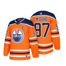 Connor McDavid Edmonton Oilers #97 Orange 2018 New Season Team Home Jersey
