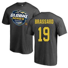 Ottawa Senators Gray Derick Brassard #19 2017 Global Series T-shirt